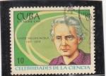 Sellos del Mundo : America : Cuba :  CELEBRIDADES DE LA CIENCIA-MARIE CURIE