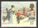 Sellos de Europa - Reino Unido -  Muñeco de nieve