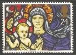 Sellos de Europa - Reino Unido -  Virgen con niño Jesus