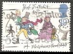 Stamps United Kingdom -  Navidad infantil