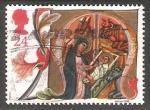 Stamps United Kingdom -  La Virgen y el niño Jesus