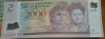 monedas del Mundo : America : Paraguay :  2000 guaranies