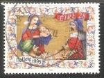 Sellos del Mundo : Europa : Irlanda : Adoracion de los Reyes Magos
