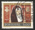 Sellos de Europa - Portugal -  Reina Doña Leonor