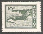 Stamps Argentina -  Yacare