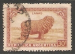 Sellos de America - Argentina -  Oveja lanas