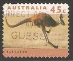 Stamps Australia -   kangaroo-Canguro