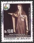 Stamps Bolivia -  Navidad 2001 - 3
