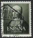 sellos de Europa - España -  V Centenario del nacimiento de Isabel la Catolica