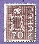 Stamps : Europe : Norway :  INTERCAMBIO