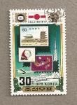 Stamps North Korea -  Expo Filatélica Tokyo