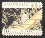 Stamps Australia -  Squirrel glider-ardilla