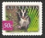 Sellos de Oceania - Australia -  Striped possum-Comadreja rayada