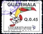 Sellos de America - Guatemala -  GUATEMALA_SCOTT 459.01 KARATE, JUEGOS UNIVERSITARIOS AMERICA CENTRAL Y CARIBE. $0,30