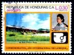 Stamps : America : Honduras :  HONDURAS_SCOTT C578.01 AÑO INTERNACIONAL DE LA MUJER. $0,35