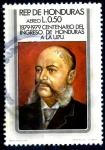 Stamps Honduras -  HONDURAS_SCOTT C671.02 CENTENARIO DEL INGRESO DE HONDURAS EN LA UPU. $0,40