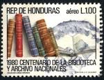 Stamps : America : Honduras :  HONDURAS_SCOTT C722.01 CENT. DE LA BIBLIOTECA Y ARCHIVO NACIONALES. $0,40