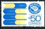 Stamps Mexico -  MEXICO_SCOTT 1133.04 MEXICO EXPORTA, LIBROS. $0,20