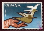 Stamps Spain -  A.N.I.C.