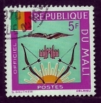 Sellos de Africa - Mali -    Bandera
