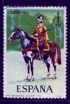 Stamps : Europe : Spain :  Arcabucero ecuestre