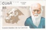 Sellos de America - Cuba -  CELEBRIDADES DE LA CIENCIA-CHARLES DARWIN