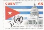 Sellos de America - Cuba -  50 ANIVERSARIO O.N.U