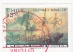 Sellos de America - Chile -  GLORIAS NAVALES