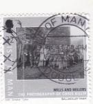Stamps : Europe : United_Kingdom :  FOTOGRAFIA DE MOLINOS Y MOLINEROS-ISLA DE MAN