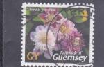 Sellos de Europa - Reino Unido -  F L O R E S-ISLA DE GUERNSEY