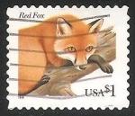 Sellos de America - Estados Unidos -  Zorro rojo