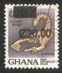 Stamps Ghana -  Escorpion