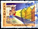Stamps Panama -  PANAMA_SCOTT 738.01 AÑO INTERNACIONAL DE LA VIVIENDA PARA PERSONAS SIN HOGAR. $0,80