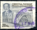 Stamps : America : Paraguay :  PARAGUAY_SCOTT 2073 25º ANIV FUNDACION CIUDAD PTE. STROESSNER. $0,20