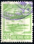 Stamps : America : Paraguay :  PARAGUAY_SCOTT C827.02 ADICIONAL AEREO. $1,25