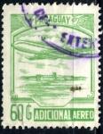Stamps : America : Paraguay :  PARAGUAY_SCOTT C827.03 ADICIONAL AEREO. $1,25