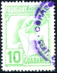 Stamps : America : Paraguay :  PARAGUAY_STW 3.01 ADICIONAL PRO-CARTERO. $0,20