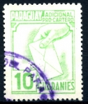 Stamps : America : Paraguay :  PARAGUAY_STW 3.04 ADICIONAL PRO-CARTERO. $0,20