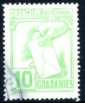 Stamps : America : Paraguay :  PARAGUAY_STW 3.05 ADICIONAL PRO-CARTERO. $0,20