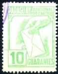 Sellos de America - Paraguay -  PARAGUAY_STW 3.06 ADICIONAL PRO-CARTERO. $0,20