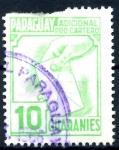Sellos de America - Paraguay -  PARAGUAY_STW 3.07 ADICIONAL PRO-CARTERO. $0,20