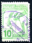 Stamps : America : Paraguay :  PARAGUAY_STW 3.08 ADICIONAL PRO-CARTERO. $0,20