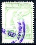 Stamps : America : Paraguay :  PARAGUAY_STW 3.09 ADICIONAL PRO-CARTERO. $0,20