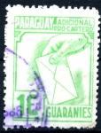 Stamps : America : Paraguay :  PARAGUAY_STW 3.10 ADICIONAL PRO-CARTERO. $0,20