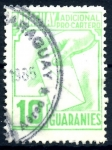 Stamps : America : Paraguay :  PARAGUAY_STW 3.12 ADICIONAL PRO-CARTERO. $0,20