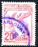Stamps : America : Paraguay :  PARAGUAY_STW 4.01 ADICIONAL PRO-CARTERO. $0,20
