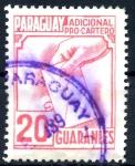 Stamps Paraguay -  PARAGUAY_STW 4.01 ADICIONAL PRO-CARTERO. $0,20