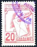 Stamps Paraguay -  PARAGUAY_STW 4.04 ADICIONAL PRO-CARTERO. $0,20