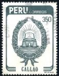 Sellos de America - Perú -  PERU_SCOTT 814.01 ESCUDO CIUDAD DE CALLAO. $0,45