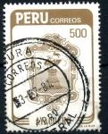 Stamps : America : Peru :  PERU_SCOTT 816.02 ESCUDO CIUDAD DE AYACUCHO. $1,40